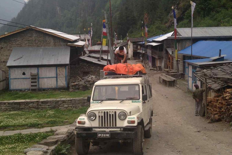 Manaslu Circuit Trek Transport