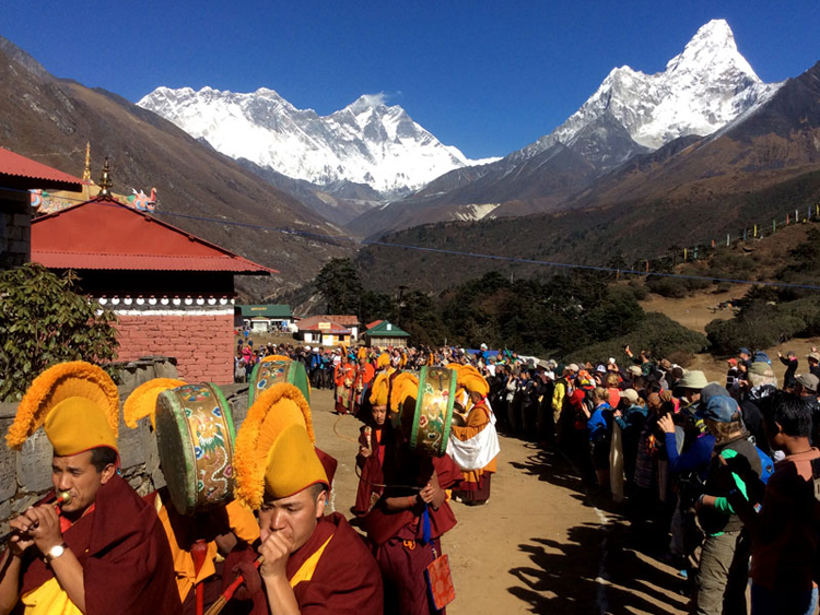 Everest Base Camp Mani Rimdu Festival