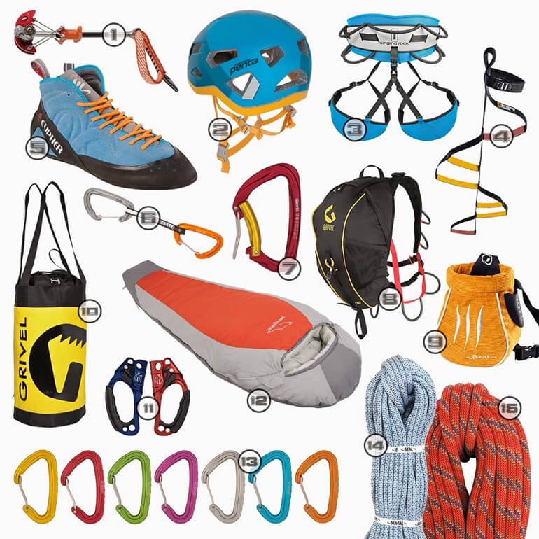 Island Peak Climbing Equipment